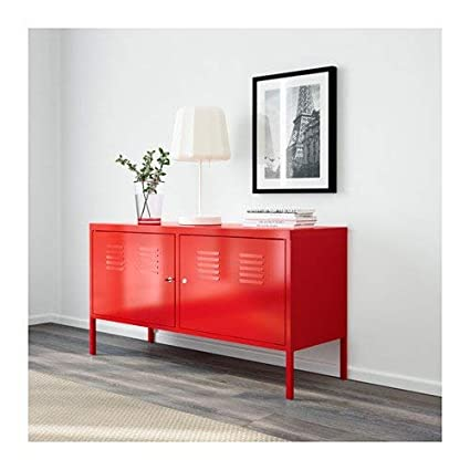 Amazon Com H4home Industrial Metal Cabinet Red Large Industrial