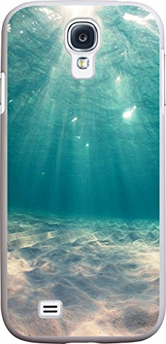 S4 Case - Case for Galaxy S4 - Protector Cover Compatible for Samsung S4 - Blue Clean Ocean Water (Slim Flexible TPU Protective Silicone) (Samsung Galaxy S4 Cases For Girls)