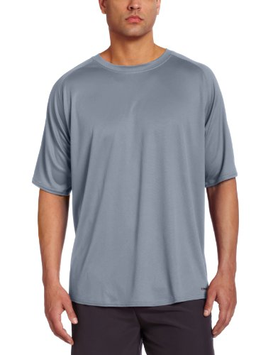 Russell Athletic Men's Short Sleeve Dri-Power Tee, Steel, Medium