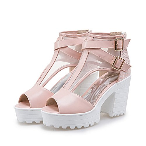 Marking MJS03269 Urethane Sandals Style Non Platforms Womens Baguette Pink Dress 1TO9 qwEzOYE