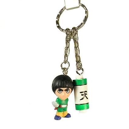 Amazon.com: Naruto Llavero – Figura Rock Lee: Toys & Games