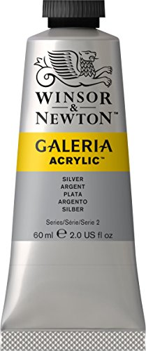 galeria-acrylic-paint-60ml-tube-silver