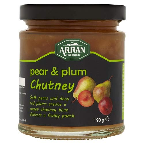 Arran Pear & Plum Chutney 190g