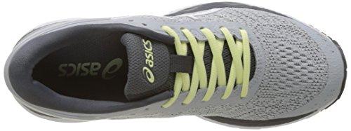 Asics Women's Gel-Kayano 24 Running Shoes Gray (Glacier Grey/White/Carbon 9601) wPFsF