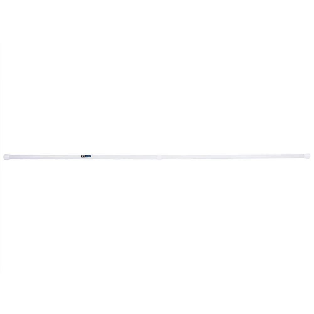 Poste Riel de Cortina de Ventana Extensible Varilla de Cortina Ajustable de Ducha Ba/ño EBTOOLS Barra de Cortinas Telesc/ópica 55-90cm