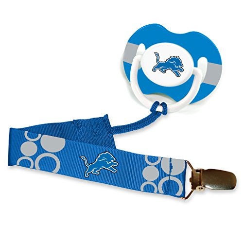 Detroit Lions Blue Infant Pacifier