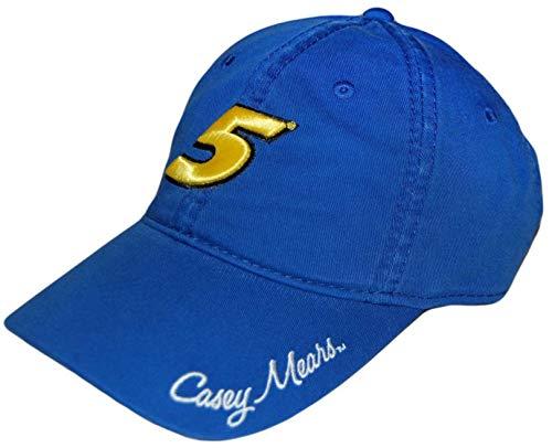 Casey Mears NASCAR Ladies Cap Blue - Nascar Racing Ladies Hat