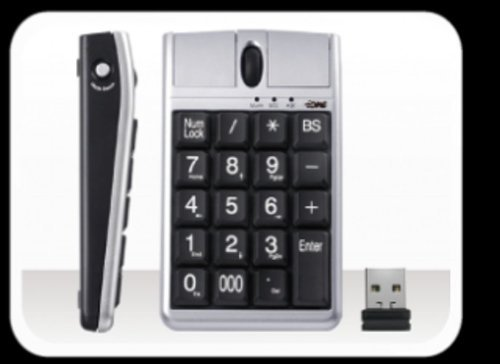 Wireless Scorpius Numerical Keypad Numbers product image