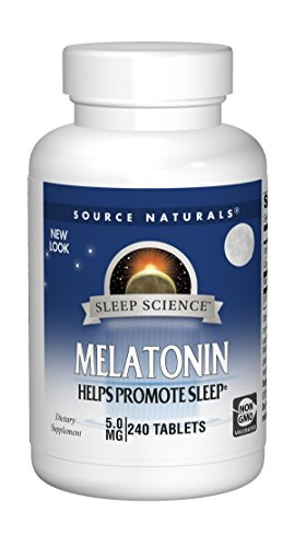 Source Naturals Melatonin 5mg Sleep Support - 240 Tablets
