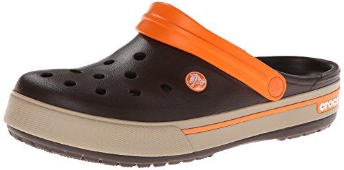 5 mahogany Crocs Marron Sabots Clog Adulte tumbleweed Ii Crocband Mixte axv8waq