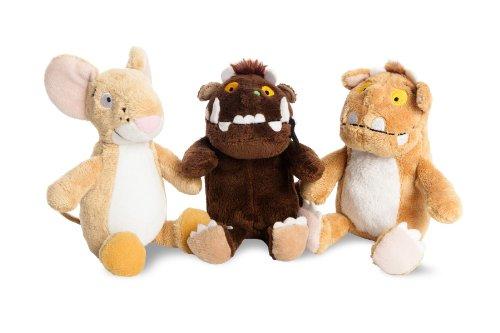 "The Gruffalo Julia Donaldson 6"" Beanie Buddy Soft Toy Set - Gruffalo, Child and Mouse"