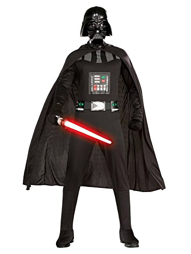 Star Wars Adult Darth Vader Set, Black, Plus -