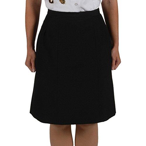 US Army Women's ASU Dress Blues Service Uniform Skirts (8MR) (Wool Twill Skirt)