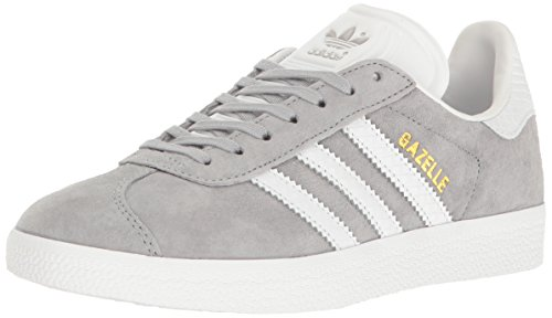 Gold adidas Gazelle Metallic Grey Mid White Originals Women's Sneakers Fashion wF6zBwq