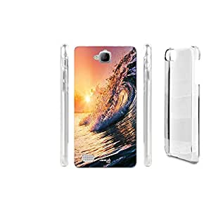 FUNDA CARCASA ONDA SUNSET PARA HUAWEI HONOR 3C