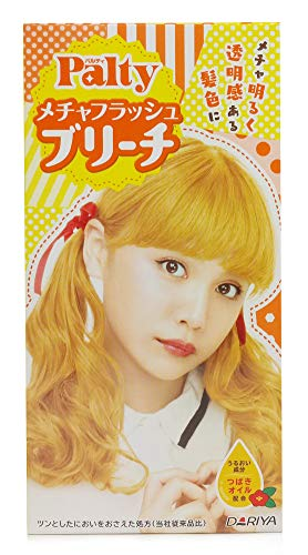 DARIYA Palty Hair Bleach Super Flash Dye, Sparkling Blonde