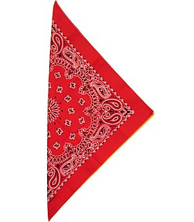 Fabfive – Hav-Hank A – Original Made in USA Bandana – Red