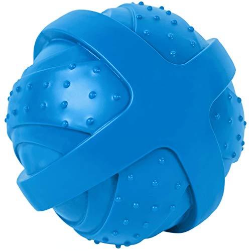 ST Pet 532501 Rowdy Roller Ball Dog Toy, Blue, 4.5
