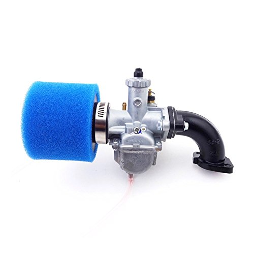 TC-Motor Mikuni VM22 Carb 26mm Carburetor + 38mm Air Filter + Manifold Intake Pipe For 110 125 140cc Engine CRF50 SSR Chinese Pit Dirt Bike
