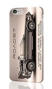 "DeLorean Back to the Future Car 3D Rough iphone 6 -4.7 inches Case Skin, fashion design image custom iPhone 6 - 4.7 inches , durable iphone 6 hard 3D case cover for iphone 6 (4.7""), Case New Design By Codystore"