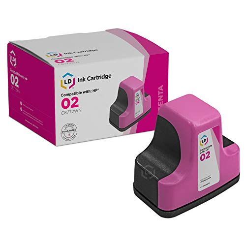 LD © Remanufactured Replacement for HP 02 / C8772WN Mag
