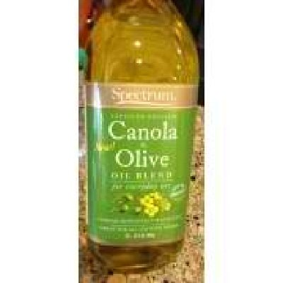 Spectrum Naturals Canola and Olive Oil Blend, 32 Ounce -- 12 per case. by Spectrum