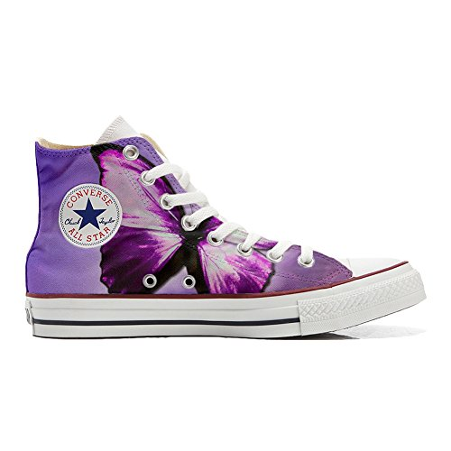 Converse All Star zapatos personalizados (Producto Handmade) Farfalla Butterfly