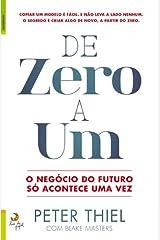 De Zero a Um O negócio do futuro só acontece uma vez Capa comum