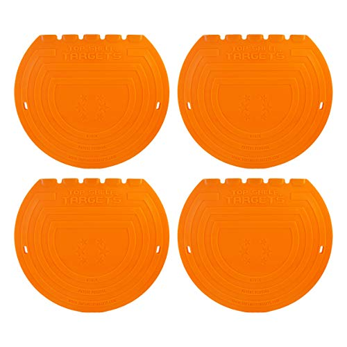 Top Shelf Targets Sniper 8-inch Magnetic Shooting Targets (4 Pack Set) for Hockey and Lacrosse Excellent Practice Tool & Training Equipment ()