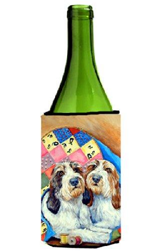 Petit Basset Griffon Vendeen Wine Bottle Beverage Insulator Beverage Insulator Hugger