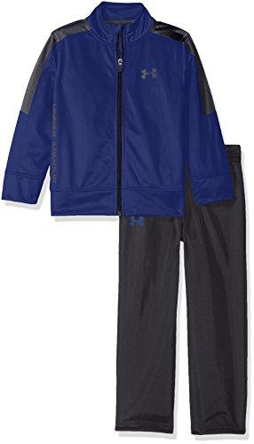 Under Armour Toddler Boys' Zip Jacket and Pant Set, Caspian Blue, 2T
