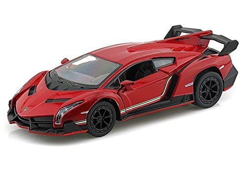 Lamborghini Veneno 1/36 Red by Collectable Diecast ()