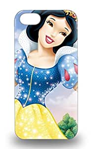 Iphone Anti Scratch 3D PC Case Cover Protective Disney Snow White Snow White And The Seven Dwarfs Beautiful Woman 3D PC Case For Iphone 5/5s ( Custom Picture iPhone 6, iPhone 6 PLUS, iPhone 5, iPhone 5S, iPhone 5C, iPhone 4, iPhone 4S,Galaxy S6,Galaxy S5,Galaxy S4,Galaxy S3,Note 3,iPad Mini-Mini 2,iPad Air )