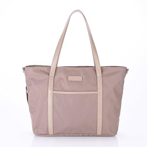 stellakim-by-perry-mackin-renee-water-resistant-nylon-diaper-tote-beige