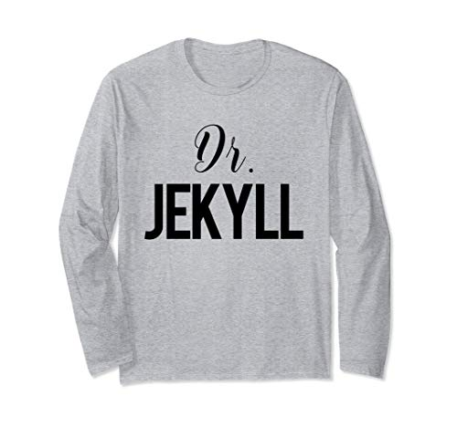 Dr. Jekyll and Mr. Hyde LONG SLEEVE Shirt Couple Costume -