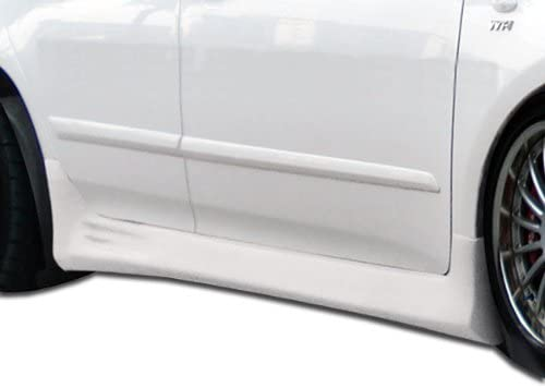 Compatible With Corolla 2009-2013 2 Piece Body Kit Brightt Duraflex ED-KOM-386 Skylark Side Skirts Rocker Panels