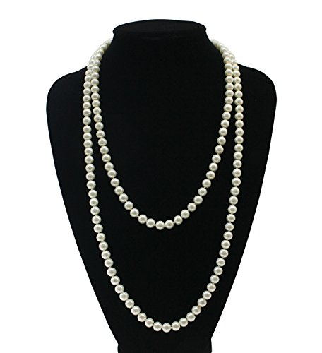 Costume Jewelry Necklaces (Zivyes 1920s The Great Gatsby Inspired 59