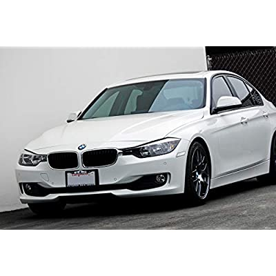iJDMTOY Glossy Clear Lens Front Bumper Side Markers Compatible With 2012-2015 BMW F30 F31 Pre-LCI 3 Series 328i 335i, Replace OEM Amber Reflector Assy: Automotive