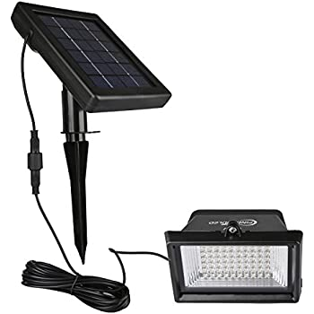 This Item Findyouled Solar Flood Lights Outdoor Landscape Lighting 60led 120lumen Cast Aluminium Wall In Ground Lights 2 In 1 Adjustable Light With A