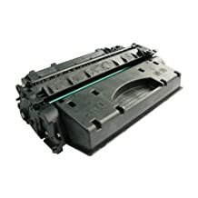 Generic Compatible High Yield Toner Cartridge Replacement for HP CE505X, 05X (Black, 1-Pack)