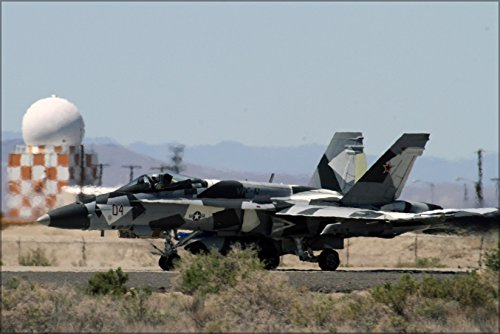 18a Hornet (24x36 Poster . Fa-18A Hornet F-18 Fighter Sq Comp 12 (Vfc-12) Fighting Omars)