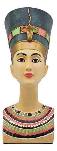 Ebros Ancient Egyptian Beautiful Queen Nefertiti Bust Statue 9