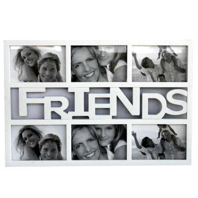 Buy 6 in 1 FRIENDS COLLAGE White Frame : Collage Frames Online at ...