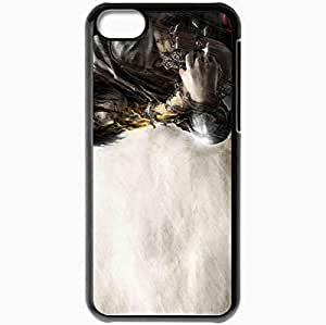 Personalized iPhone 5C Cell phone Case/Cover Skin Prince Of Persia The Two Thrones Black