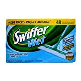 Swiffer Sweeper Wet Mopping Cloths - 48 Count (Open Window Fresh Scent)