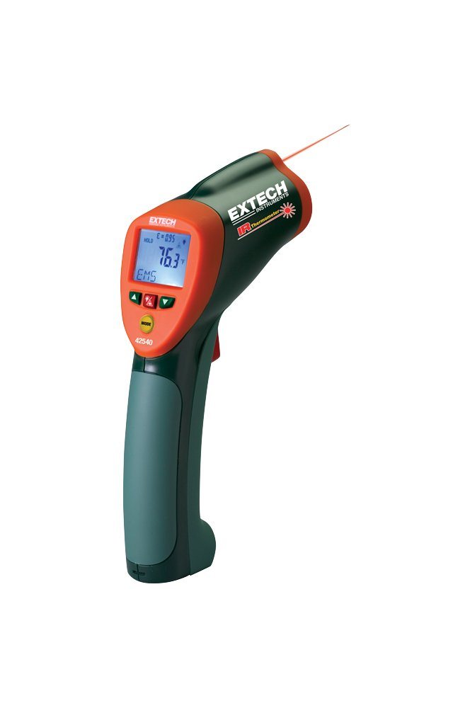 Extech 42540-NIST High Temperature IR Termometer with NIST - - Amazon.com 74abc4f90d4ee