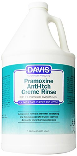 Davis Pramoxine Anti Itch Dog and Cat Creme Rinse, 1-Gallon