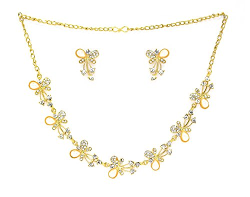 Zaveri Pearls Beautiful Butterfly Necklace Set for Women – ZPFK2079