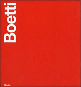 Alighiero Boetti: Part 1