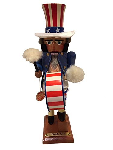 Signed Herr Steinbach Nutcracker *Uncle Sam* Musical First in Series Limited Edition